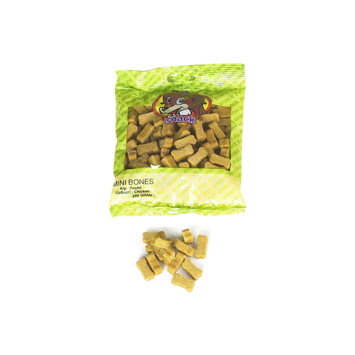 MINI BONES CHICKEN PET SNACK 200G