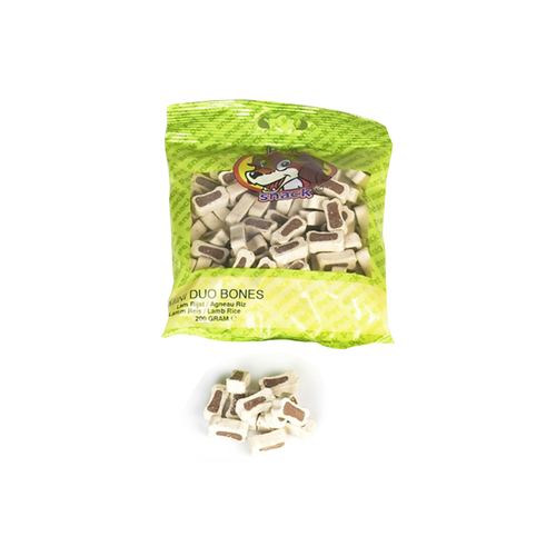 MINI DUO LAMB-RIZE PET SNACK 200G