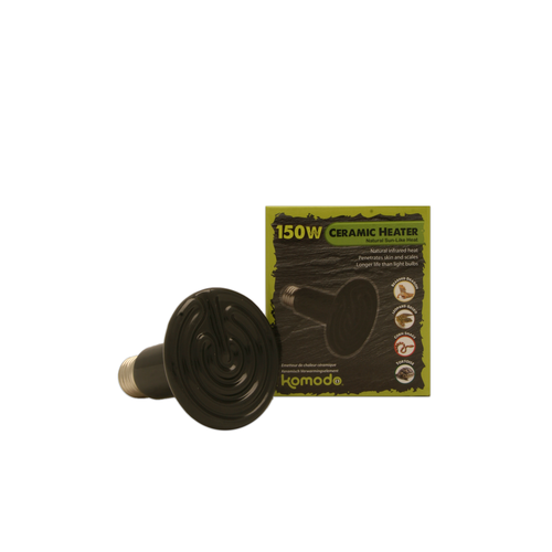 CERAMIC HEAT EMITTER BLACK 150W